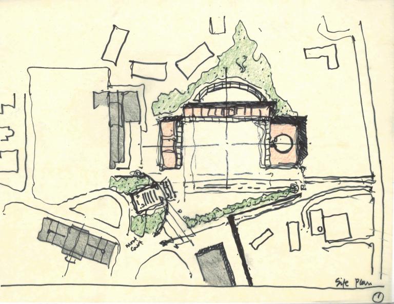 Law School Sketch