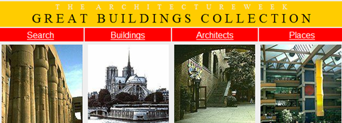 Great Buildings Collection website