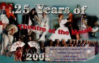 Cover image from 25 Years of Theatre at the Mount