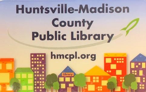 Huntsville-Madison County Public Library card