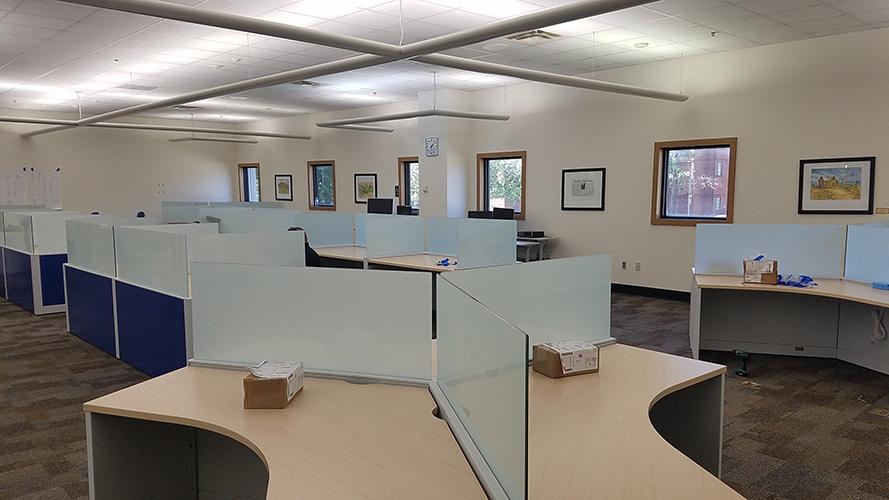 construction of new computer desks
