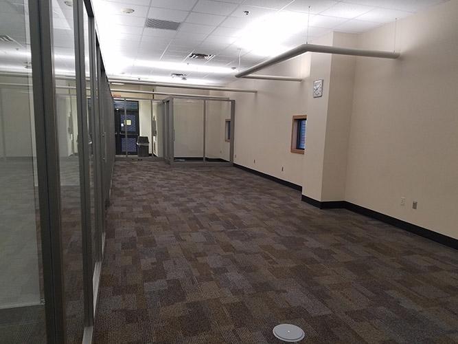 empty floor and walls