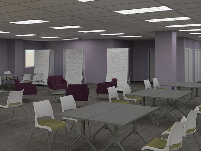 3D rendering of room