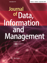 Cover of Journal of Data, Information and Management