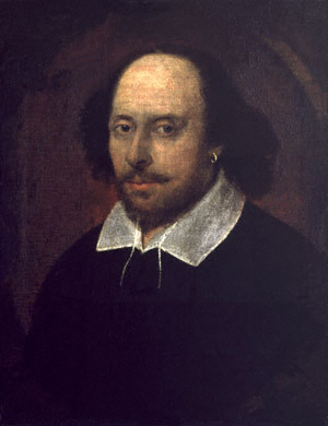 Portrait of William Shakespeare attributed to John Taylor, circa 1610