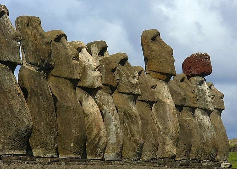 Image of Easter Island Statues