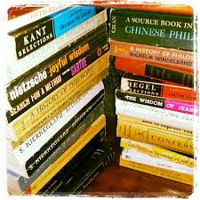 Image of philosophy books
