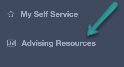 Click on advising resources