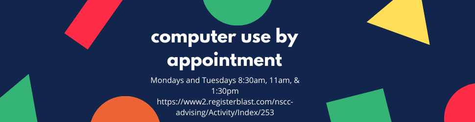 computer reservations by appointment