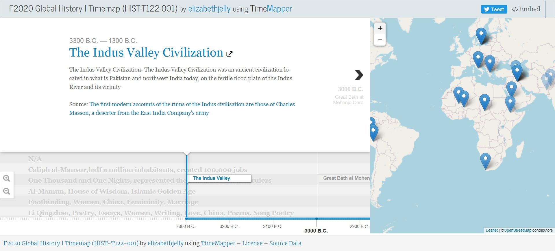 global history timemap screenshot