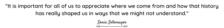 Sonia Sotomayor quote