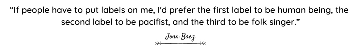 Joan Baez quote