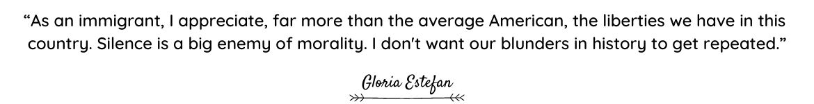Gloria Estefan quote