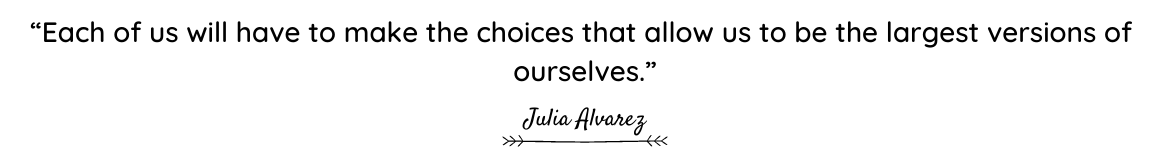 Julia Alvarez quote