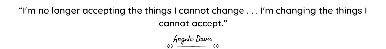 Angela Davis quote