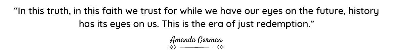 Amanda Gorman quote