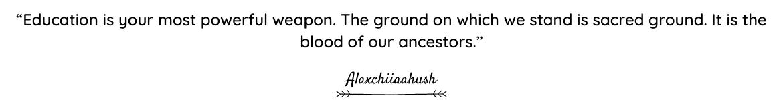 Alaxchiiaahush quote