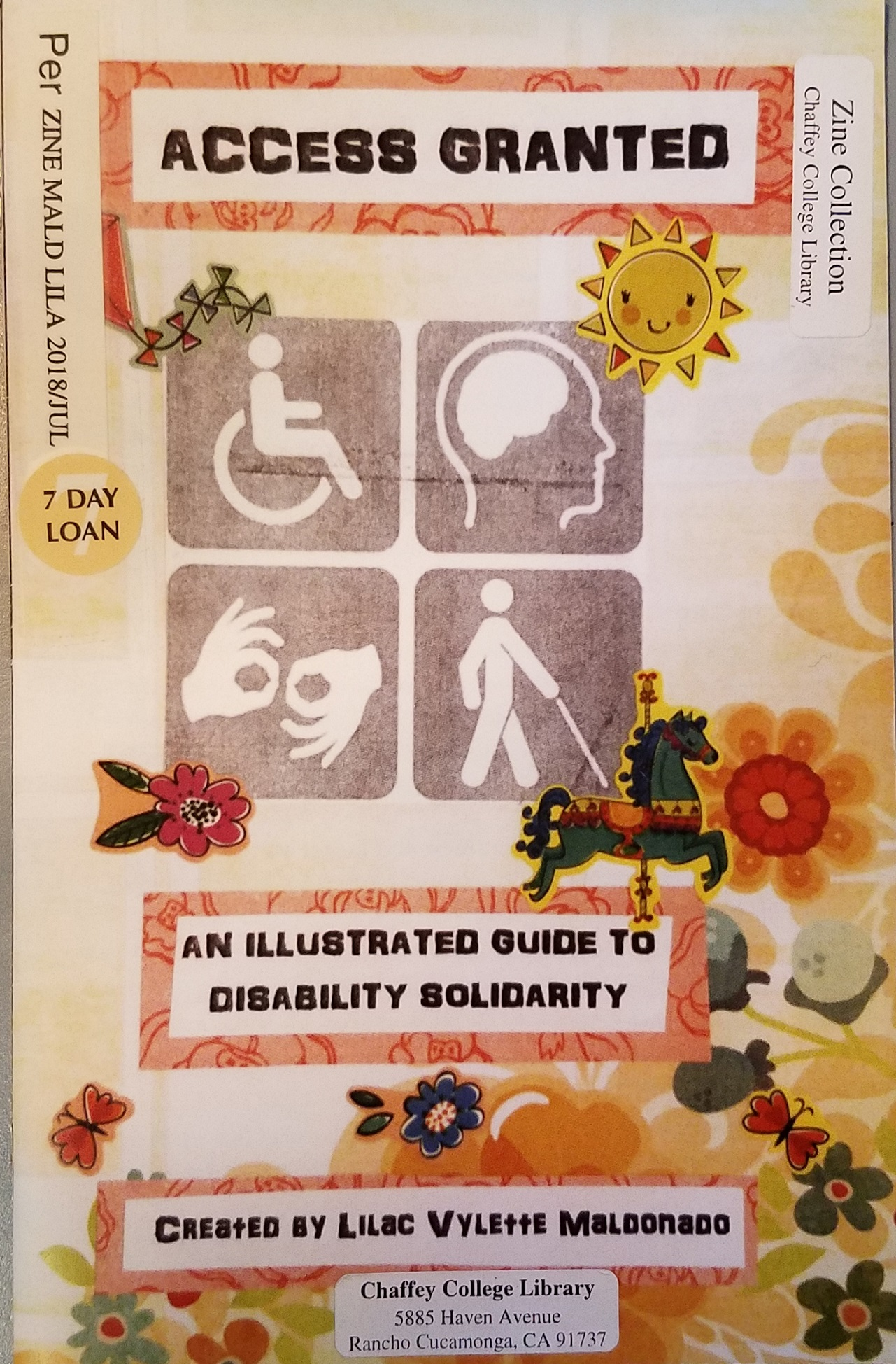 Access granted : an illustrated guide to disability solidarity