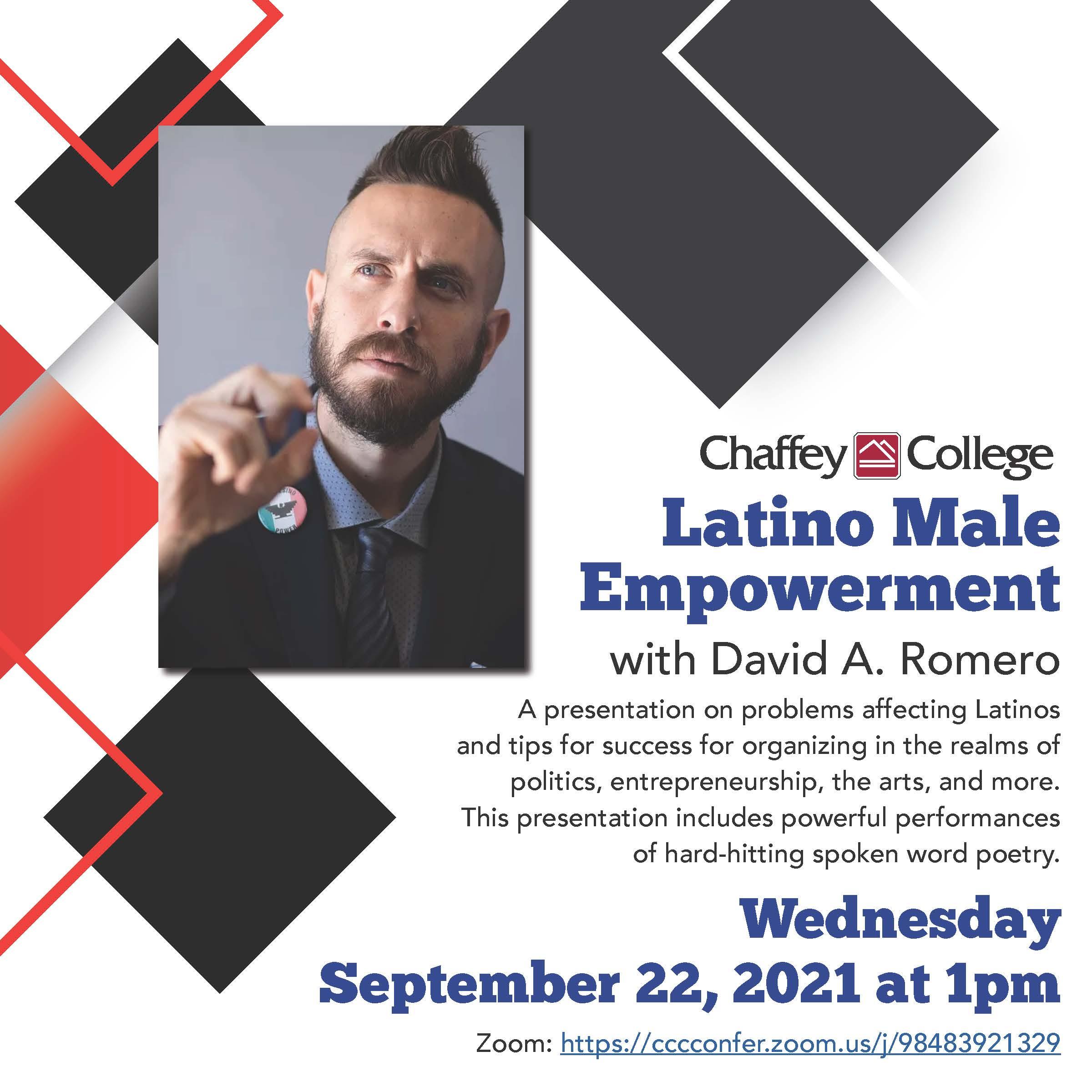 Latino Male Empowerment