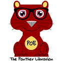 Poe the Panther Librarian