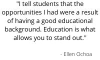 Ellen Ochoa quote