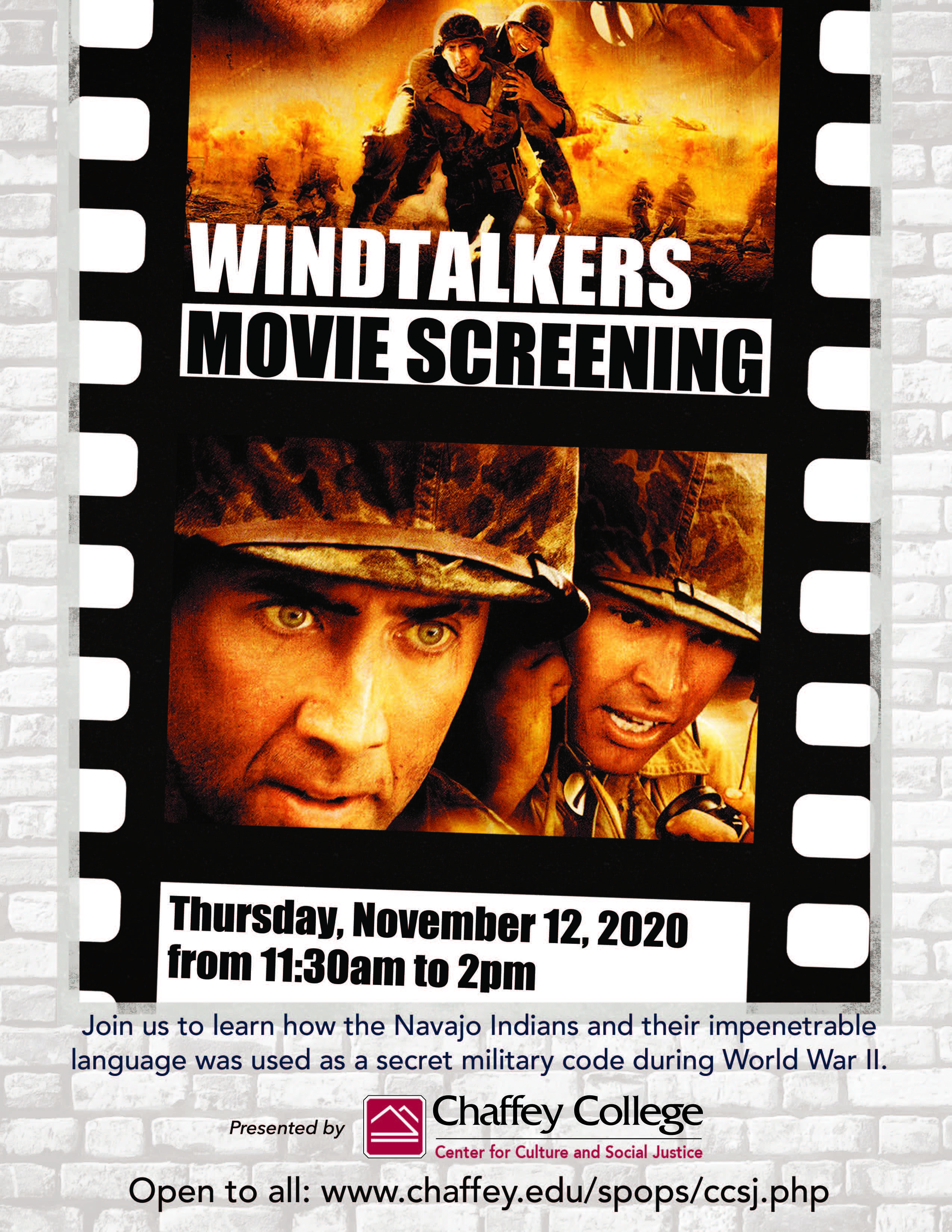 Windtalkers movie screening