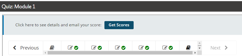 Image of the get score icon that you need to click to get your scores