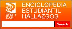 Example Enciclopedia Estudiantil Hallazgos search box