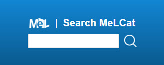 Example of small MeLCat Encore search box