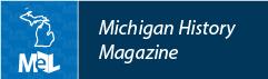 Michigan History Magazine web button example