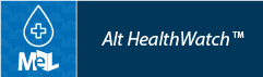 Alt HealthWatch web button example