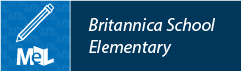 Britannica School Elementary  web button example