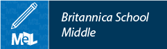Britannica School Middle  web button example