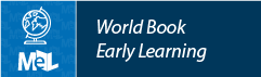 World Book Early Learning web button example