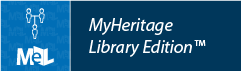 MyHeritage Library Edition web button example