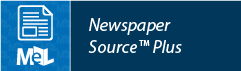 Newspaper Source Plus web button example