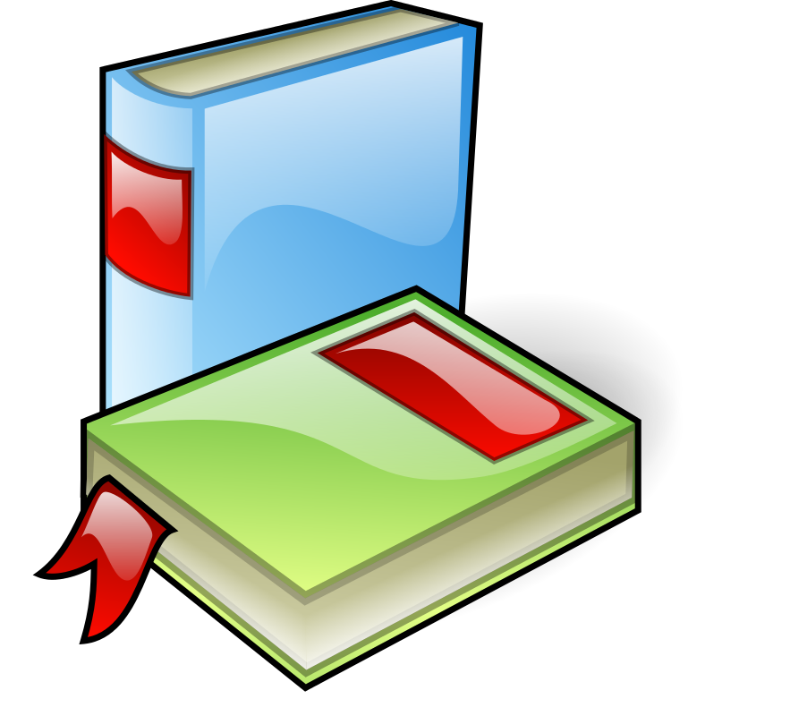 image of two books