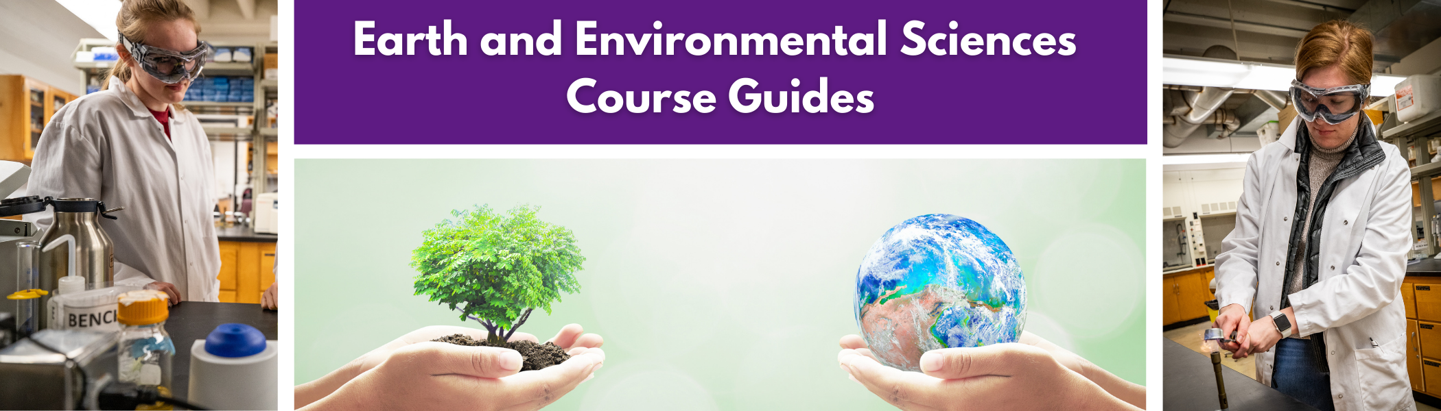 Earth and Environmental Sciences Course Guides