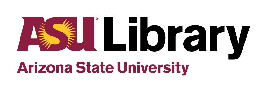 A picture of the ASU Library logo