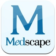A picture of the Medscape logo