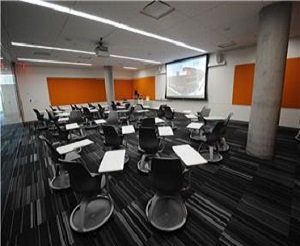 An image of the PBC Library's Training Lab Room A446