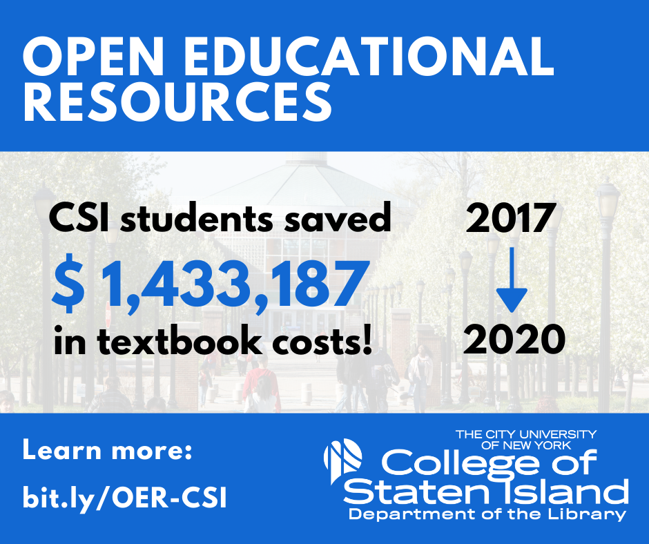 CSI students saved $1,433,187 over 2017 to 2020