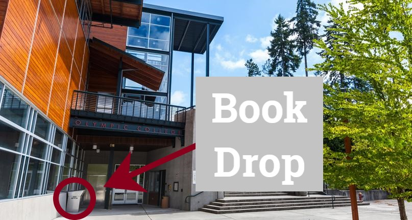 Picture of OC Poulsbo with Book Drop highlighted