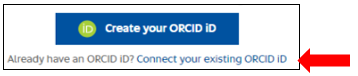 Connect your existing ORCID iD