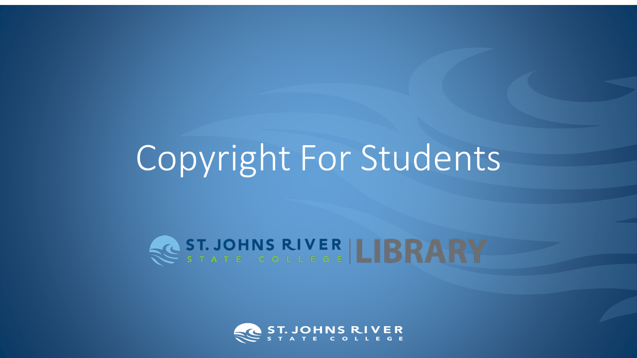 Copyright For Students.