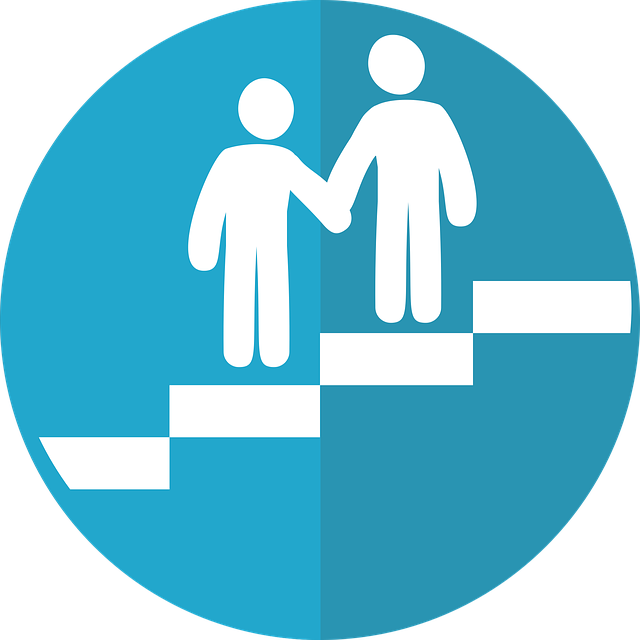 Image of two people touching