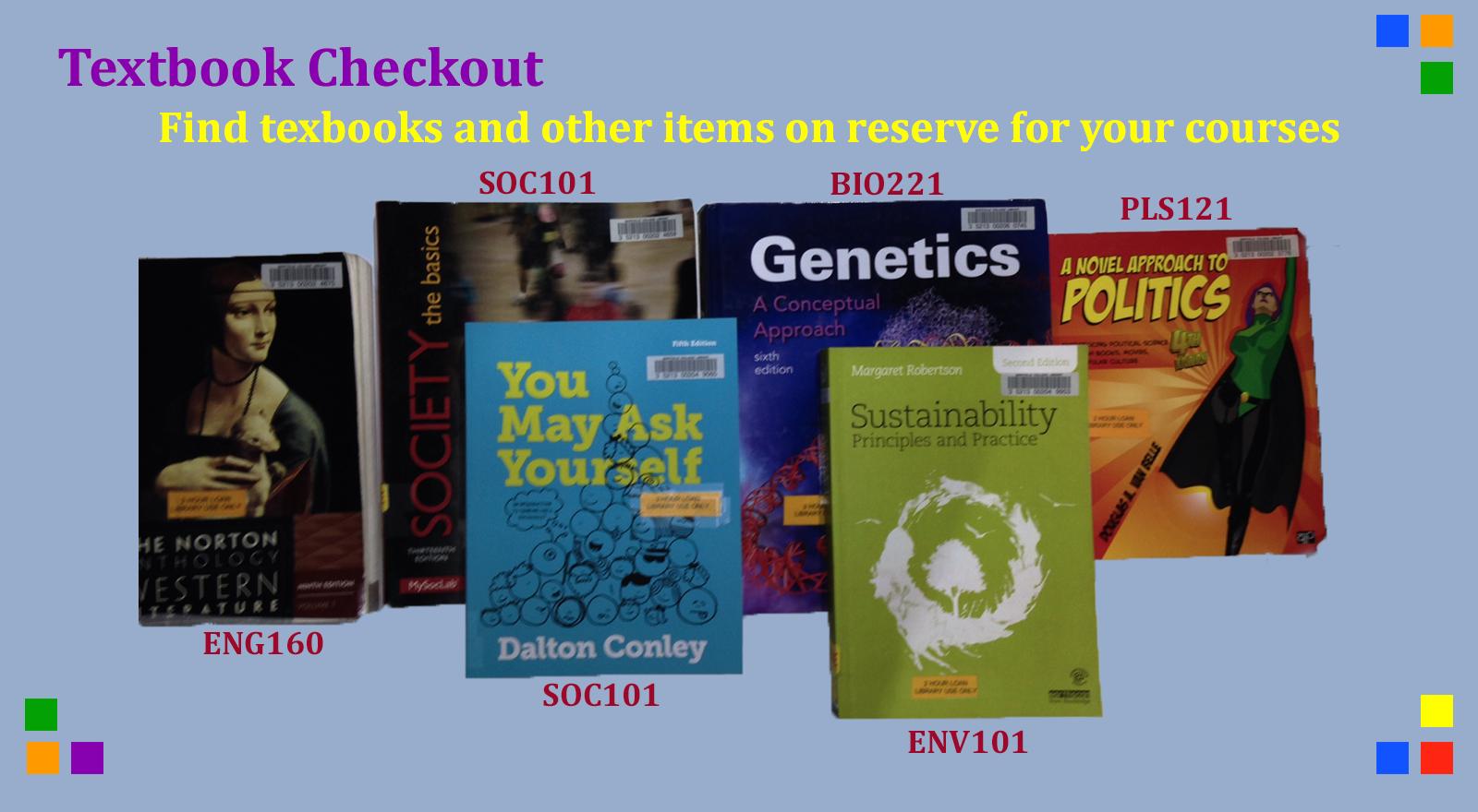 textbook reserves