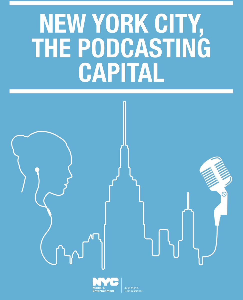cover of New York City, The Podcasting Capital report