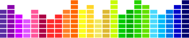 rainbow sound levels