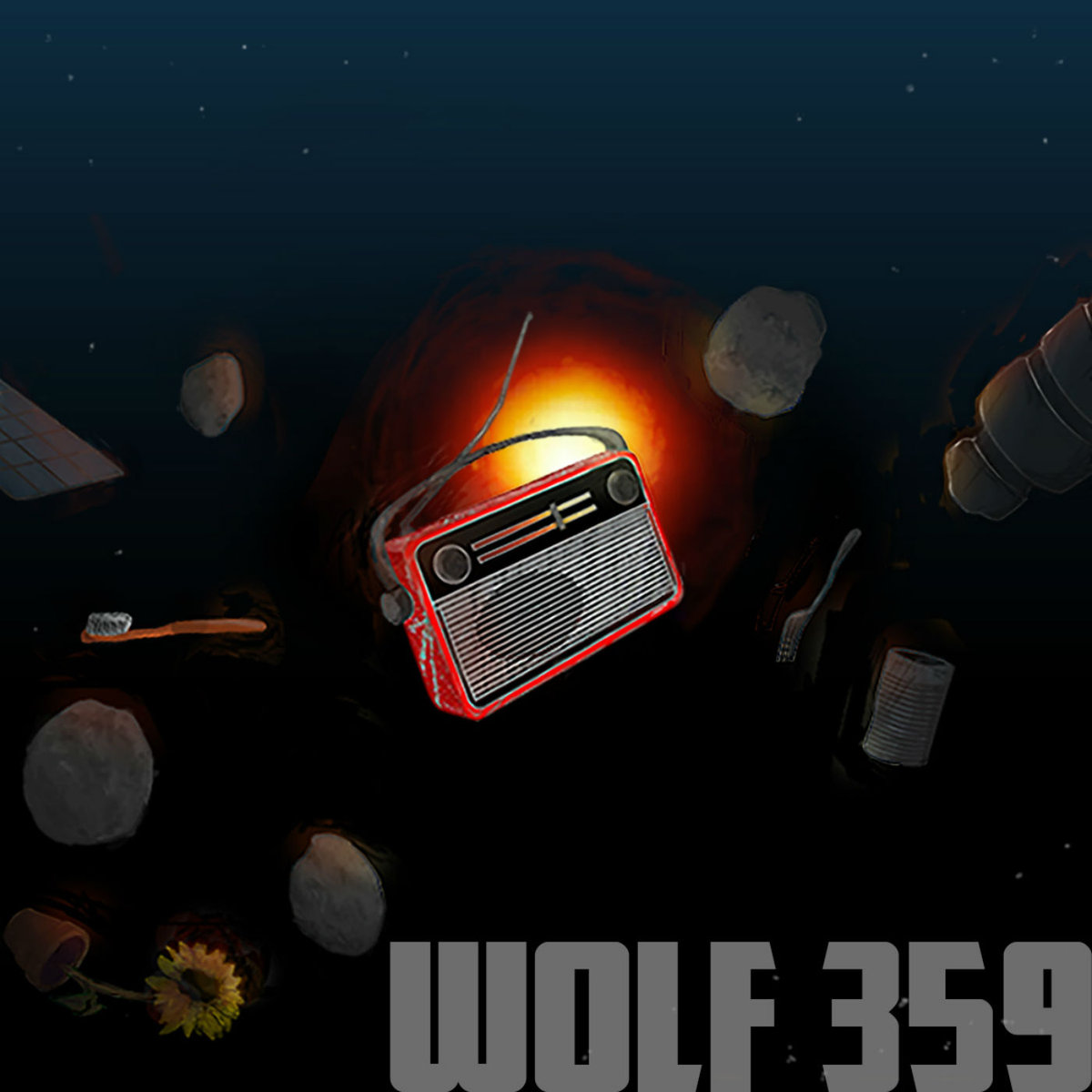 Wolf 359 podcast artwork